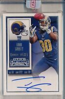 TODD GURLEY - 2015 Contenders RPS Rookie Ticket AUTO - LA Rams RC  Panini Sealed