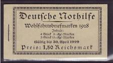 Deutsches Reich, MH 27.3, Markenheftchen, postfrisch, Nothilfe 1928 (21176)