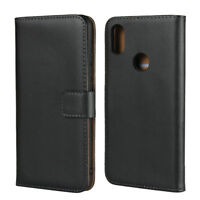 Genuine Leather Wallet Flip Case Cover For Xiaomi Redmi S2