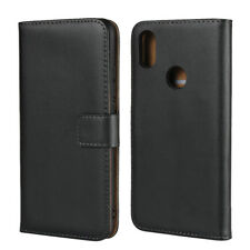 Genuine Leather Wallet Flip Case Cover For Xiaomi Redmi S2