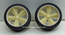 """Scale Production 1/24 Foose Nitrous II 21"""" (2 Wheels with Tyres)"""