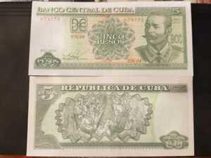 5 pesos 2014 P#116n  Ernesto Guevara UNC