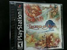 Legend of Mana RPG PlayStation 1 PS1 PSX NEW & Sealed w/ Sony Hologram + Y-Fold