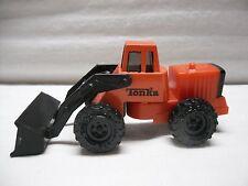 1992 Orange Tonka McDonalds Happy Meal Toy Loader