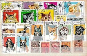 Sud Amerika sammlung......album karte mit gebrauchte briefmarken