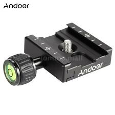 Andoer QR-50 Quick Release Plate Clamp Adapter for Arca Swiss RRS Ballhead A7X6