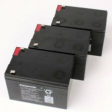 3 x 12V 16Ah Panasonic Batteria singolo LC-CA1216P1 Scooter elettrico Mach1 1758