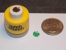 Mini Geranium Leaf Punch Bunch 1/4 inch 8mm Scrapbook Paper E17 Dollys Gallery