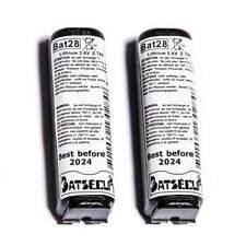 Lot 2 Piles Bat28 BatSecur, équiv BatLi28 Logisty Hager Daitem 3,6V 2Ah