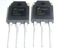2PCS FDA18N50 FDA 18N50 MOSFET N-CH 500V 19A TO-3P - BRAND NEW- 2 PACK