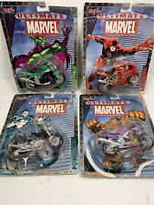 Maisto Ultimate Marvel Motorcycle Collection 2002 Series 1 Lot Of 4