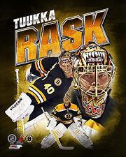TUUKKA RASK Boston Bruins Goalie Action NHL Premium POSTER Print