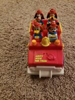 Vintage Mattel Disney Mickey Mouse & Friends Fire Truck 1989 HTF Collectible