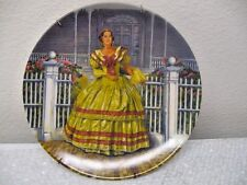 "Norman Rockwell Knowles ""GONE WITH THE WIND"" ""Melanie"" Collector Plate"