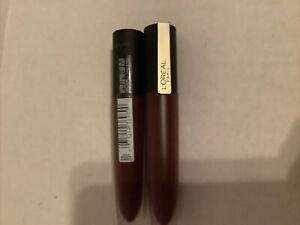 "2x L'Oreal Rouge Signature Matte Lip Stain Liquid Lipstick #410 ""I Enjoy"""