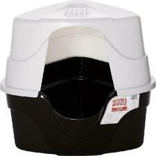 Advanced Large Hooded Cat Corner Litter Box Enclosed Covered Kitty Kitten Litter