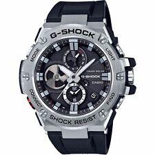 Orologio Casio G-Shock GST-B100-1AER Bluetooth Ricarica Solare Nuovo Ufficiale