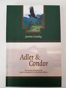 Buch Adler & Condor  von Jonette Crowley / Deutsch, guter Zustand