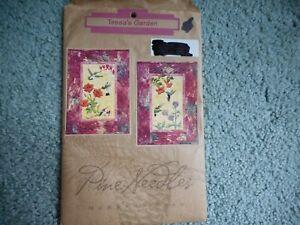 McKenna Ryan Pine Needles Tessa's Garden quilt pattern - hummingbirds