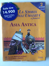 La storia dell'umanità a fumetti Asia antica 2cd rom windows e mac compatibile
