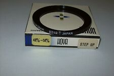 EARLY HIGH QUALITY HOYA 48-58MM STEP UP FILTER RING IN ITS BOX MADE IN JAPAN