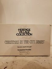 Dept 56 Christmas in the City Heritage Collection Music Emporium #55310 Nib