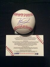 Tyrell Jenkins Autographed Signed Rawlings baseball! MLB Authentic! Braves!