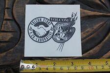 VOLCOM Stone Featured Artist Collaborative Vintage Skateboarding Decal STICKER
