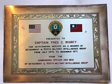 Viet Nam Service 500th  Military Intelligence Group -Detachment G Group Award