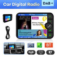 "2.4"" Auto DAB DAB+ Autoradio Adapter Bluetooth Wireless FM Transmitter EmpfäNger"
