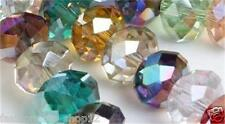 Wholesale!  3x4MM Mixed color Crystal Quartz Rondelle Loose Beads 142pc