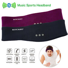 Wireless Stereo Headset Sport Earbuds Sleeping Headband Headphones