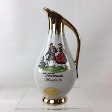 Vase W Wagner Qualitat Bavaria Porcelain Gruss Aus Dem Schwarzwald Hundseck