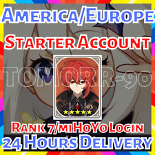 [America/Europe] Diluc Genshin Impact Rank 7 Starter Account