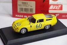 BEST MODEL ALFA ROMEO TZ1 TARGA FLORIO 1965 #60 REF 9061 1/43