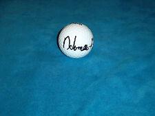 Homero Blancas Hand Signed Wilson Golf Ball PGA