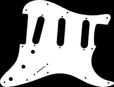 Pickguard Pickguard Scratchplate Fender Strat Stratocaster Guitar White Acrylic