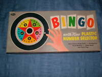 VINTAGE 1960S WHITMAN BINGO GAME