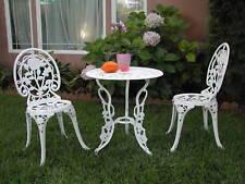 CBM Patio Furniture Cast Aluminum Bistro Set 4 Outdoor Living 3 Piece E CBM1290