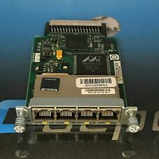 Cisco HWIC-4ESW 4 Port 10/100 Ethernet Switch Interface Card w/HOLOGRAM