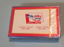 Vintage Bob's Casing Crew SEALED Playing Cards Deck Odessa Hobbs Texas