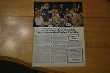 Playboy Club Key 1979 Playboy Magazine ad - Excellent