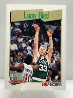 Larry Bird 1991 NBA Hoops  #451 Boston Celtics Supreme Court