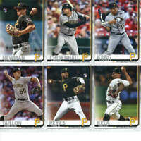 2019 Topps Master (Series 1, 2, Update) Pittsburgh Pirates Team Set of 34 Cards