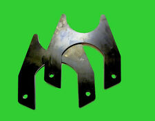 "Weld on Disk Brake Brackets 9 inch Ford  for 11 1/4"" x .960"" wide Rotors - Pair"