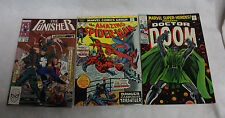 LOT OF 3 MARVEL COMIC BOOKS 1969, 1974, 1989