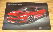 Original 2019 Ford Mustang Shelby GT 350 Foldout Sales Brochure 19 350R