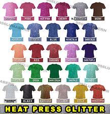 5 Sheet 12x20 Super Glitter Heat Press Thermal Transfer Vinyl Htv Roll