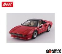FERRARI 308 GTS 1979 Gilles Villeneuve Personal Car Best Model Die cast 1/43 New