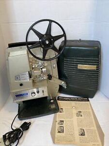 VTG Sears Dual Speed Super 8mm Movie Projector 584 Easi Load Tested